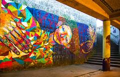 underpass gallery (werner boehm *) Tags: art munich münchen kunst architektur friedensengel garaffiti loomit wernerboehm unterführungamfriedensengel