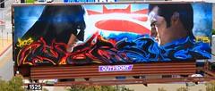 BATMAN VS SUPERMAN (bkuz2013) Tags: graffiti billboard lts kog versuz billboardgraffiti bkuzphotography