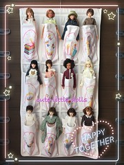 My momoko collection 💕😘 (cute-little-dolls) Tags: toy doll collection sekiguchi zarahome petworks momokodoll