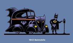 1943 Batmobile (Don Moyer) Tags: moleskine ink notebook drawing batman batmobile moyer brushpen donmoyer