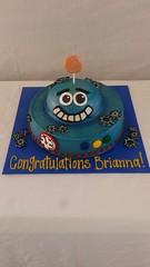 Congratulations Robot Cake (tasteoflovebakery) Tags: cake robot congratulations congrats