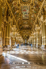 France - Paris - Palais Garnier Opera House - 08 02 2016 (Redstone Hill) Tags: paris france operahouse palaisgarnier palaisgarnieroperahouse paris2016 palaisgarnieroperahouse08022016 cubaandparis2016
