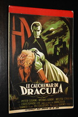 Dracula Stationary (1970's) (Donald Deveau) Tags: monster vampire dracula stationary christopherlee