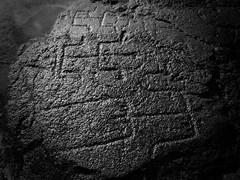Big Island Petroglyphs-Low Tide (aneonrib) Tags: ocean white black texture water rock island hawaii lava big ancient pacific native outdoor tide figure hawaiian historical petroglyph kona carvings petroglyphs kailua heiau keeku