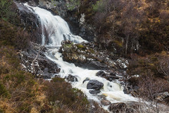 Falls at Allt Na Ghamhna (rdhphotos) Tags: river scotland waterfall sutherland birches quinag alitghamhna
