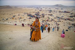 Hinglaj Yatra 2016 (S.M.Rafiq) Tags: pakistan heritage history colors girl lady rural landscape religious temple women colorful asia dress faces religion historical jewlery hindu cultural thar wome hingol hinduculture baluchistan muddyvolcano smrafiq hinglaj asthan nanimandir nanitemple hinglajmata travelsinpakistan chandarkhup hinglajyatra