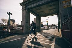 (f_stops) Tags: city nyc newyorkcity newyork motion vanishingpoint nikon streetphotography cityscapes bridges illumination bikes sigma sunsets harshlighting sigma1020 fstops cityphotography newyorkphotography nikonphotographers njphotographers nikon3300 createexplore fstopsnyc