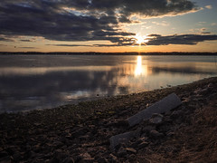 Shediac sunset (Moncton Guy) Tags: sunset fujifilm shediac xf1