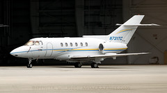 Private 125-800A At Opa Locka. (spencer.wilmot) Tags: plane ramp florida aircraft aviation apron kopf opf bizjet privatejet businessjet opalocka corporatejet 125800a n731tc