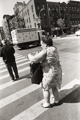 AA020 (heavyasmountains) Tags: nyc newyorkcity blackandwhite slr film 35mm photography nikon candid streetphotography noflash 24mm fm3a filmphotography streetstyle