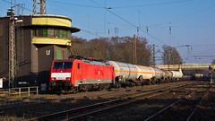189 024 on EZ45715 to Gremberg at Lintorf (37001 overseas) Tags: db ez ratingen dbcargo gremberg kijfhoek 45715 lintorf dbschenker 189024 1890243 ratingenlintorf ez45715