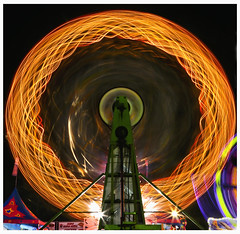Volusia Co Fair 2015 #7 (hamsiksa) Tags: blur timelapse time florida fairs rides movinglights amusements deland slowshutterspeed carnivals blurredmotion midways volusiacounty countyfairs