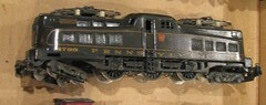 """Beat out the douchebag  """"makeseanpaymore"""" aka """"thare3trains"""" on eBay once more for this lot of 3 brass engines. (a69mustang4me) Tags: scale electric locomotive streamlined ho brass prr p5 alco"""