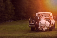 ..and they lived happily ever after II (Chris Bilodeau Photography) Tags: new wedding truck lens this groom nikon his wife and almost after loves much they ever 70200 f28 lived the happily