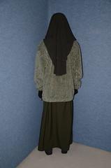 DSC_9636 (Buses,Trains and Fetish) Tags: girl warm hijab torture sweat fleece niqab slave burka chador