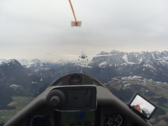 Im Schlepp (Roland Henz) Tags: fliegen fhn 2016 segelfliegen segelflug unterwssen samburo dassu fschlepp fhnfliegen 03042016