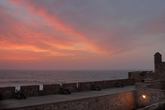 Sunset on Essaouira (nyoz_fr) Tags: travel mountains cat morroco maroc atlas