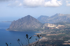 View from Erice, Sicily (lorenzhome) Tags: italy mountains seaside sicily erice sizilien