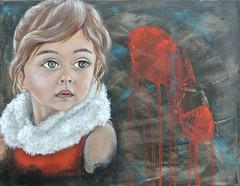 Manuela - Nata per Errore (Mire Le Fay) Tags: mixed media le mamma fay mire bambina violenza orma inpronta