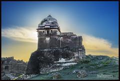 Part of Rohtas Fort Jhelum, Punjab, Pakistan. (Ali's Photograpy) Tags: pakistan sunset history nikon fort doubleexposure backlit punjab nikkor f28 2470mm jhelum rohtas rohtasfort aliasghar alisphotography