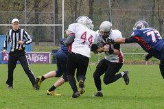 20160403_Avalanches Annecy Vs Falcons Bron (4 sur 51) (calace74) Tags: france annecy sport foot division falcons bron amricain avalanches rgional