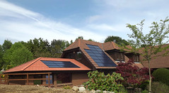 Roof integrated (C) AES Solar