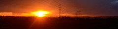 Sunset in Wojkowice (ChemiQ81) Tags: sunset sun set outdoor poland polska polish basin polen setting polonia zachd soca pologne 2016  polsko  puola plland lenkija pollando   poola poljska polija pholainn thebp zagbie wojkowice dbrowskie     chemiq dabrova polanya lengyelorszgban