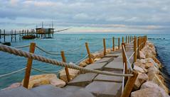 Trabocco Punta Pinciosa (ZetaTony) Tags: sea summer italy beach colors mare abruzzo pontile trabocco costadeitrabocchi spiaggiacavalluccio alpha6000