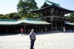 Leena at Meiji Shrine (pennykaplan) Tags: japan tokyo leena meijishrine