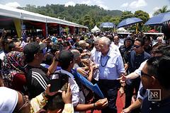 Majlis Sejiwa Senada Bahagian Limbang, Sarawak. (Najib Razak) Tags: caves sarawak malaysia di pm batu thaipusam primeminister 2016 majlis sambutan perdanamenteri najibrazak majlissejiwasenadabahagianlimbang