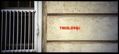 Somewhere in Vienna (Giorgio Verdiani) Tags: vienna wien red panorama streetart muro film wall 35mm austria sterreich stencil kodak 200asa 200iso r1 af rosso ricoh timeless compact 30mm pellicola compatta 13x36