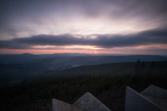 Thringer Wald (Rainer Schund) Tags: light sunset nature sunshine clouds thringen nikon sonnenuntergang natur wald langzeitbelichtung thringer unschrfe lichtstimmung nikond700 naturemasterclass natureexploring
