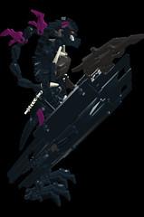 Gwarif, Skakdi of Earth (V3) (---//?//---) Tags: lego bionicle moc ldd skakdi