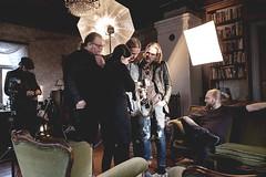 112/366 (Niko Saarinen) Tags: sunset promo photoshoot band indoors fujifilm behindthescenes fujinon 18mm xe2 classicchrome