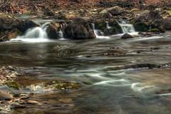 Hannacroix Creek Cascade (ca276) Tags: longexposure creek waterfall stream upstateny slowshutterspeed greenecounty nikond5200 hannacroixcreekpreserve