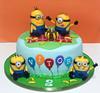 Piquenique dos Minions para os 2 aninhos do Vitor! (Elaine Russo - Delizie! Arte com Açúcar) Tags: cake minions