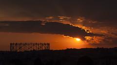 La luce sui tetti di Roma (robertopedone) Tags: roma compleanno gazometro garbatella ostiense 21aprile