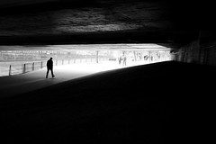 true love kcbr (maekke) Tags: urban bw man silhouette underground graffiti switzerland noiretblanc availablelight streetphotography fujifilm zrich truelove ch hardbrcke 2016 wipkingen kcbr x100t