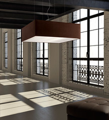 White minimalist loft interior (designlights) Tags: morning windows sunlight white black home glass architecture modern loft concrete big iron stair industrial realestate apartment floor conversion contemporary steel interior empty lounge steps property gritty plaster spotlight beam livingroom glossy mezzanine level railing development minimalist sparse openplan vast doubleheight