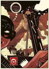 MAD MAX FURY DRAW -  Squaz (Sugarpulp) Tags: comics tribute fumetti madmax illustrazione sugarcon sugarpulp sugarpulpconvention