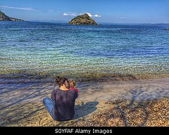 Photo accepted by Stockimo (vanya.bovajo) Tags: old sea vacation two baby holiday beach water female children outdoors one togetherness holding women child view year rear daughter mother scenic parent years motherhood iphone babyhood iphonegraphy stockimo