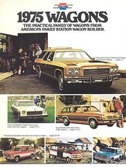 1975 Chevrolet station wagons (Hugo90-) Tags: auto bus chevrolet car station truck wagon automobile gm break suburban chevelle malibu chevy vehicle van impala vega blazer kombi caprice beauville
