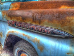 Apache HDR (tubblesnap) Tags: chevrolet truck apache rust fuji rusty badge 1950s rusting xs1 tubblesnap