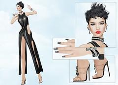 Elegance Boutique - Diva (Rehana MiSS SLVietnam, Face of CHOP ZUEY 2015) Tags: fashion ink cosmopolitan secondlife laboheme rehana maitreya slink eleganceboutique posesion chopzuey chicchica rehanaseljan