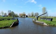 Voormalige sluis Joostendam, Groote Heicop (bcbvisser13) Tags: panorama bomen dam cottage nederland eu huis polder sluis landschap wetering spengen
