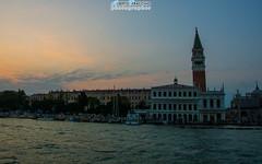 Tramonti a Venezia... (Albi Nikon) Tags: venice italy nikon san italia campanile marco tramonti laguna acqua venezia bellezza vaporetto tranquillit serenit d3200