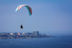 Gliding over La Jolla (Photos By Clark) Tags: california unitedstates sandiego cities places lajolla location where sail northamerica nik glider 70200 lightroom locale canon70200f28isl canon60d colorefx 7002000mm