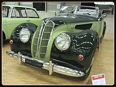 BMW 327 Roadster, 1940 (v8dub) Tags: auto old classic car schweiz switzerland automobile suisse 1940 automotive voiture german bmw oldtimer oldcar rare collector roadster scarce 327 wagen pkw klassik worldcars