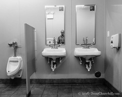 119366  2016  reflections of me (Doug Churchill) Tags: white selfportrait man reflection male guy public bathroom 1 mirror athletic alone adult interior streetphotography handsome mature american single short attractive restroom ambient streetphoto inside 365 goodlooking boomer babyboomer oneperson slender lean middleage humaninterest caucasian northamerican middleaged 366 project366 dougchurchill sonyrx100m3