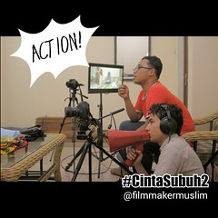 PakSut Ummami dan Astrada Addin lagi... (miiirawan) Tags: behindthescene shortmovie uploaded:by=flickstagram cintasubuh2 mahacinta instagram:photo=9731287973815644191519522149